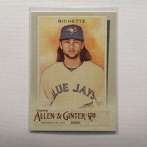 2/$20 Bo Bichette Allen & Ginter RC Card